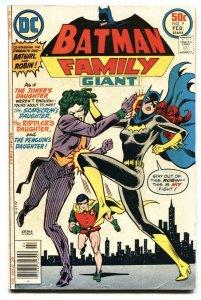 Batman Family #9 1977-DC-Joker's Daughter-Robin-Batgirl-VG
