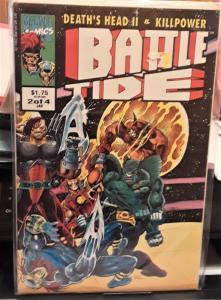 MARVEL COMICS-BATTLE TIDE-DEATH'S HEAD II & KILL POWER-DATED: JAN 2014