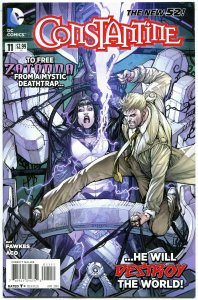 CONSTANTINE #11, VF+, John, Hellblazer, 2013, New 52 DC, more in store, Zatanna