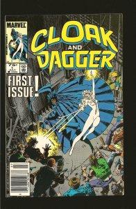 Marvel Comics Cloak and Dagger Vol 2 No 1 July 1985