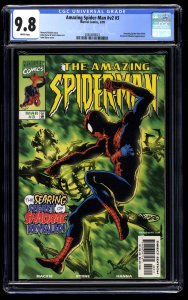 Amazing Spider-Man (1999) #3 CGC NM/M 9.8 White Pages