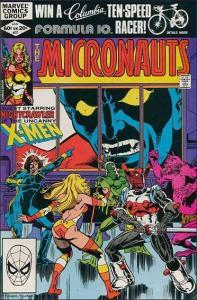 Marvel THE MICRONAUTS (1979 Series) #37 VF/NM