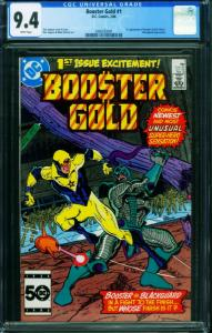 BOOSTER GOLD #1 CGC 9.4  1st appearance DC comic book 2006593001
