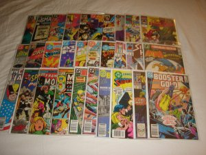 Lot of 30 Marvel/DC Bronze/Copper Comics Low/Mid Grade Bagged & Boarded L6