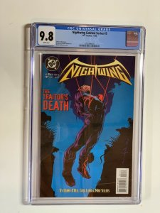 Nightwing Limited Series 3 Cgc 9.8 Qp Dc Comics