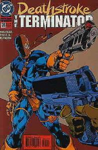 Deathstroke the Terminator #35 VF/NM; DC | save on shipping - details inside