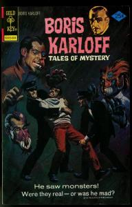 Boris Karloff Tales Of Mystery #67 1976- Gold Key horror comic VF