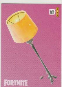 Fortnite Lamp 115 Uncommon Harvesting Tool Panini 2019 trading card series 1
