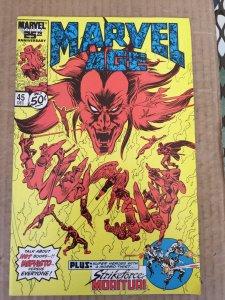 Marvel Age #45 (1986)