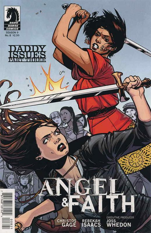 Angel & Faith #8A VF/NM; Dark Horse | save on shipping - details inside