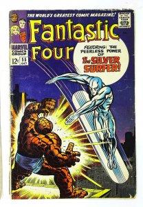 Fantastic Four (1961 series) #55, Good+ (Actual scan)