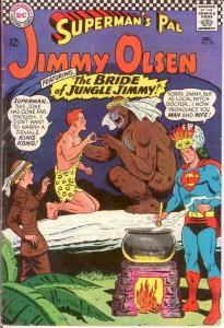 JIMMY OLSEN 98 VG-F  Dec 1966 Jimmy marries a gorilla COMICS BOOK
