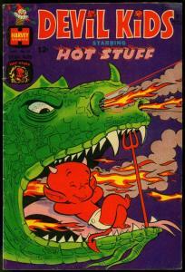 DEVIL KIDS STARRING HOT STUFF COMICS #35 1968-STUMBO DRAGON COVER VG/FN
