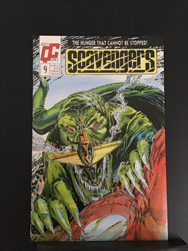 Scavengers (GB) #9 (1988)