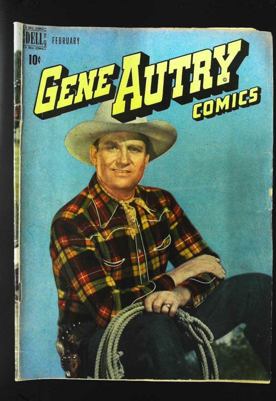 Gene Autry Comics (1946 series) #12, VG+ (Actual scan)