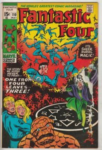 Fantastic Four #110 (May-71) VF/NM High-Grade Fantastic Four, Mr. Fantastic (...