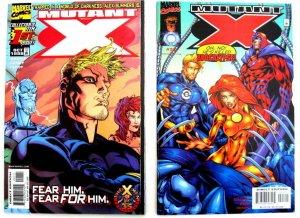 *Mutant X (Marvel, 1998) 23 Book LOT. #1-3, 5-22, Annuals '99 & 2000.