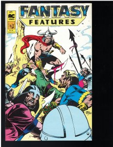 Fantasy Features #1 (AC Comics, 1987)
