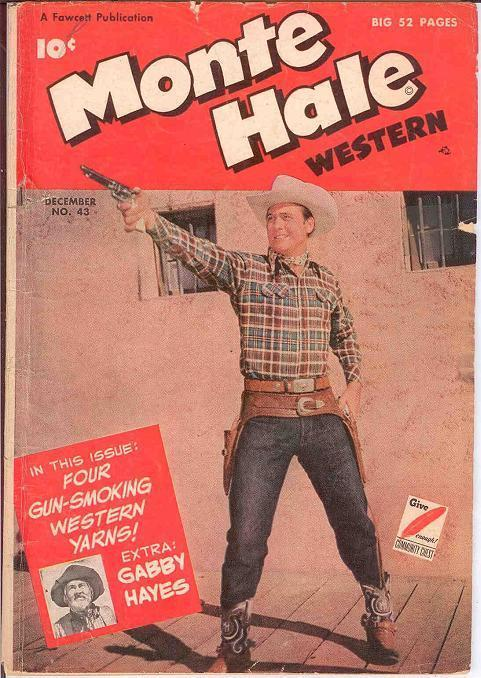 MONTE HALE WESTERN (1948-1956 FAWCETT/CH) 43 G PHOTOCO COMICS BOOK