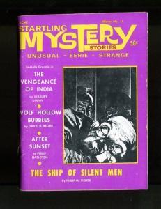 STARTLING MYSTERY STORIES-WINTER-1968-SEABURY QUINN-ROBERT HOWARD-DAVID K VG/FN