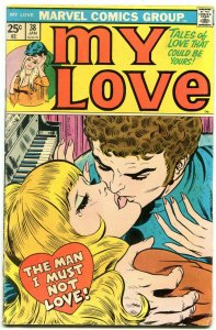 My Love #38 1976- Marvel Bronze Age Romance- Romita cover VG