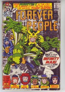 Forever People #2 (Apr-71) GD- Affordable-Grade Big Bear, Beautiful Dreamer, ...