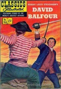 Classics Illustrated (Gilberton) #94 VG; Gilberton   low grade comic - save on s