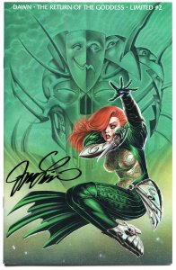 DAWN Return of the GODDESS 2 Limited, NM, Signed Linsner, COA, more in store