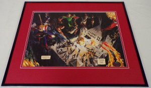 Marvels #1 Avengers Framed 16x20 Cover Poster Display Alex Ross