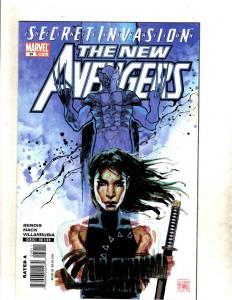12 New Avengers Marvel Comic Books # 39 40 41 42 43 44 45 46 47 48 49 50 CJ12