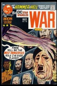 Star Spangled War Stories #156 NM- 9.2 DC Comics Hitler Cover! 1st Battle Album!