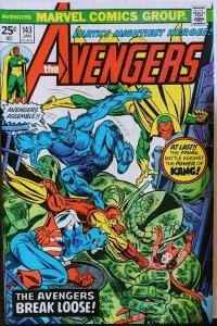 The Avengers #143 (1976) KANG - FINAL BATTLE! KEY! MCU! HOT! NM++