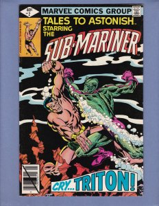 Tales To Astonish #2 VF Namor Sub-Mariner Marvel 1980