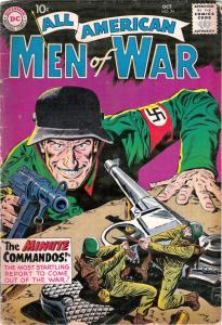 All-American Men of War #74 (Oct-59) VG Affordable-Grade Easy Co.