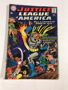 Justice League Of America 55 3.0 Gd/vg Good / Very Good Dc Silver Age