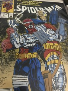 Marvel Spider-Man #21 Feat Deathlok Mint