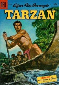 Tarzan (1948 series) #72, VG- (Stock photo)