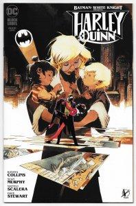 Batman White Knight Harley Quinn #1 Scalera Variant (DC, 2020) NM