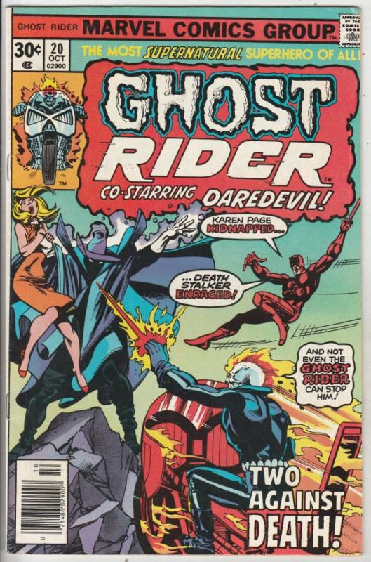 Ghost Rider, The #20 (Oct-76) VF/NM High-Grade Ghost Rider