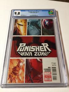 Punisher War Zone 1 Cgc 9.8 2012