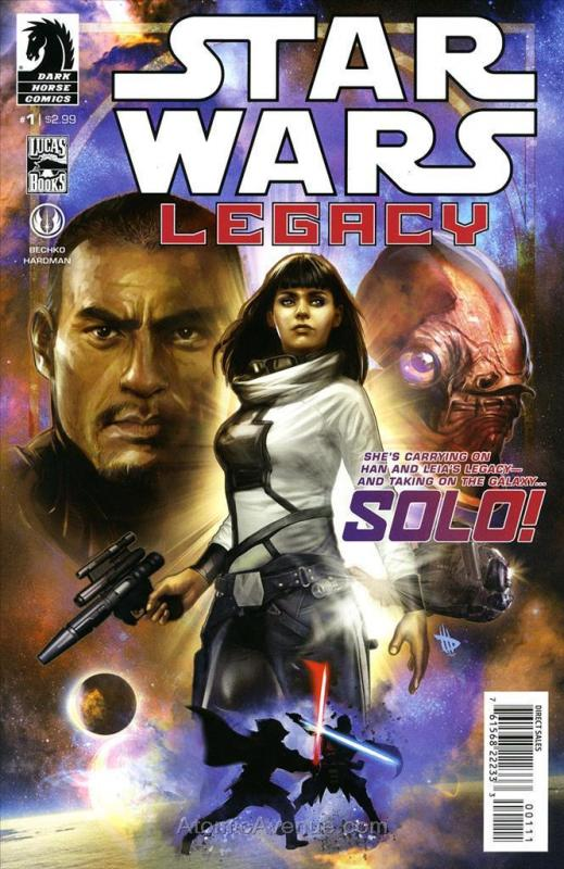 Star Wars: Legacy (Vol. 2) #1 VF/NM; Dark Horse | save on shipping - details ins