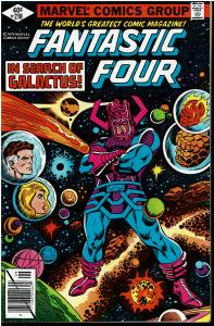 Fantastic Four #210, 8.0 or Better - Galactus Appearance