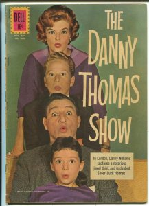 Danny Thomas Show, Four Color Comics #1249 1962-Dell--photo cover-TV-VG