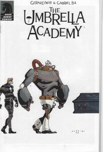 THE UMBRELLA ACADEMY #1 WHITE COVER VARIANT NEAR MINT $235.00