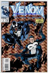 VENOM, FUNERAL PYRE #1, NM-, Punisher, Tom Lyle, Potts,1993,more Marvel in store