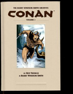 CONAN Barry Windsor-Smith Archives Vol. # 1 Dark Horse Comic Book HARDCOVER NP13