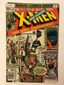 X-Men #111 - Mesmero Appearance