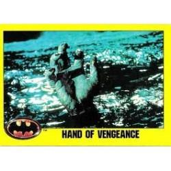 1989 Batman The Movie Series 2 Topps HAND OF VENGEANCE #135