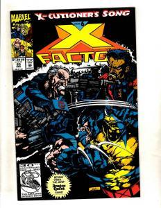 Lot Of 12 X-Factor Marvel Comic Books # 85 86 87 88 89 90 91 92 93 94 95 96 MF11