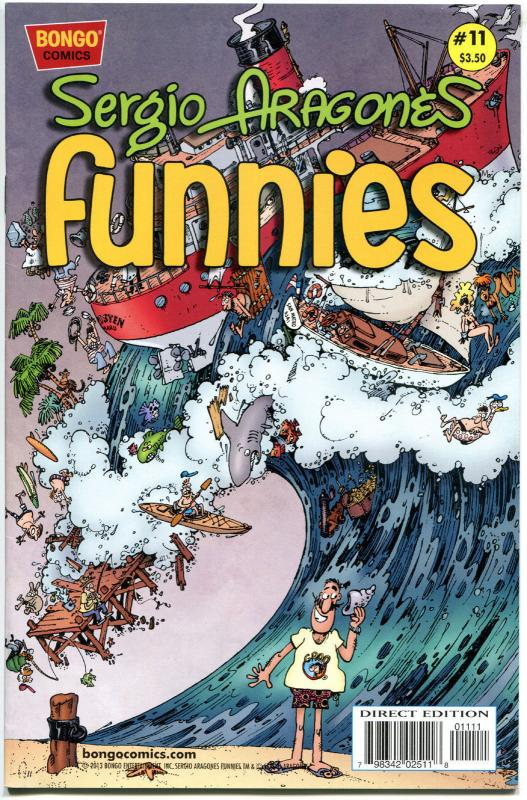 Sergio Aragones - FUNNIES #11, VF+, Bongo, Groo / Mad fame, 2011, more in store